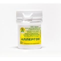 Гранулы гомеопатические «Аллергон (allergon)»10гр.