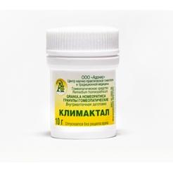Гранулы гомеопатические «Климактал»10гр.